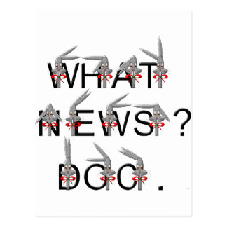 What news? Doc Postcard