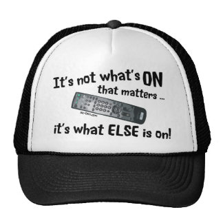 What s On Mesh Hat