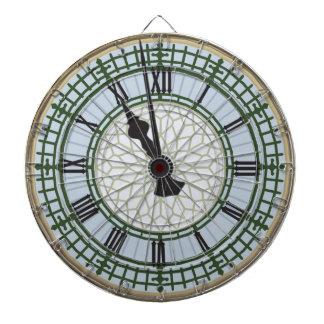 What Time Is It Big Ben London Clock Dartboard