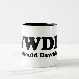 What would Dawkins Do? Two-Tone Coffee Mug