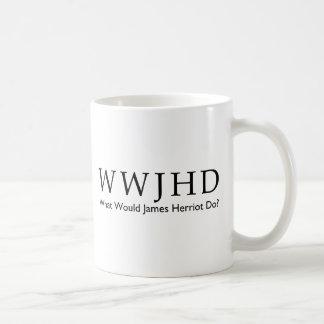 What Would James Herriot Do? Humor Veterinary Tee Coffee Mug