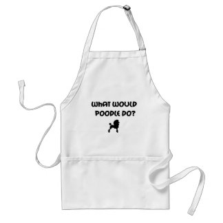 What Would Poodle Do? Standard Apron