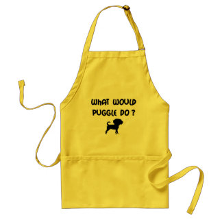 What Would Puggle Do? Standard Apron