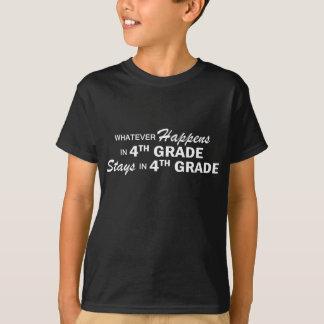 Whatever Happens - 4th Grade T-Shirt