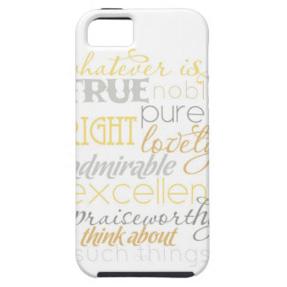 """whatever is true iPhone case- """"neutral"""" iPhone 5 Cover"""