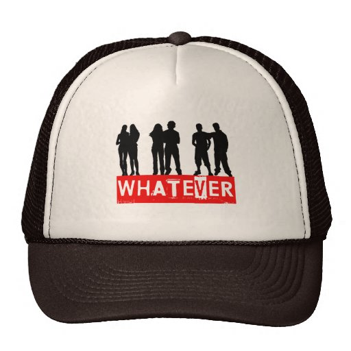 Whatever makes you happy trucker hat