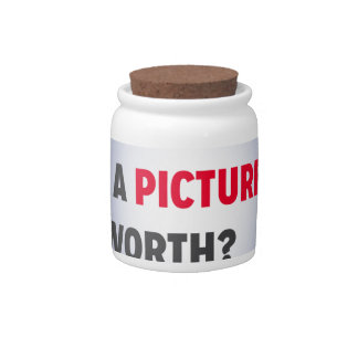 """What's a Picture Worth?"" Merchandise Candy Dish"