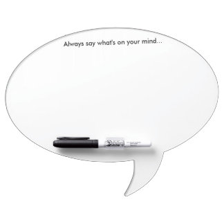 What's on Your Mind Whiteboard