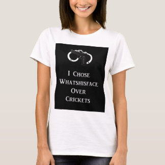Whatshisface over Crickets T-Shirt