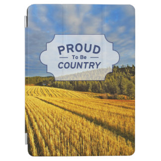Wheat Field After Harvest iPad Air Cover