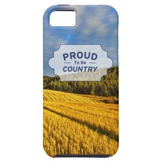 Wheat Field After Harvest iPhone 5 Cover