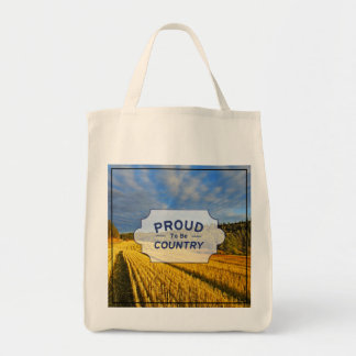 Wheat Field After Harvest Tote Bag
