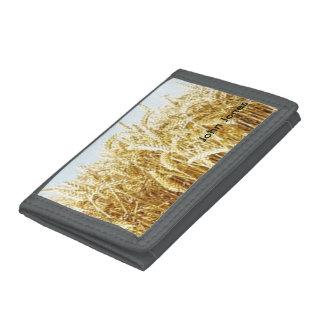 Wheat Field Tri-fold Wallet