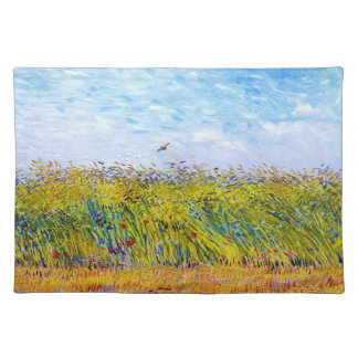 Wheat Field with a Lark by Vincent Van Gogh Placemat