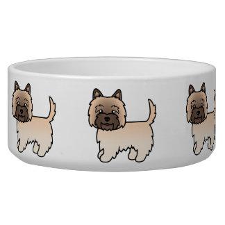 Wheaten Cairn Terrier Cartoon Dog