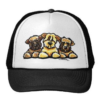 Wheaten Terrier Trio Cap