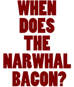 e8a275bcea When Does the Narwhal Bacon Reddit Question 3 Cm Round Badge