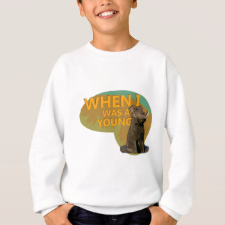 When I was a Young Warthog! Sweatshirt