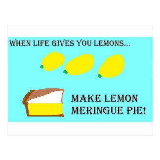 When Life Gives You Lemons... Postcard