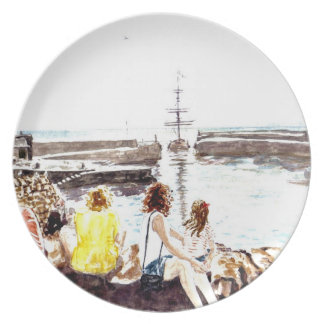 'When The Boat Comes In' Plate