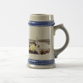 'When The Boat Comes In' Stein 18 Oz Beer Stein
