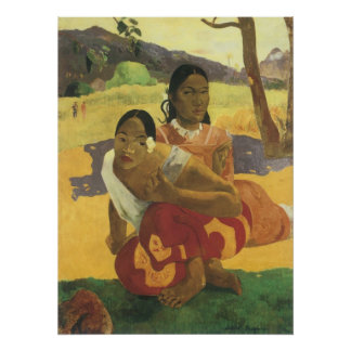 When Will You Marry? by Paul Gauguin, Vintage Art Poster