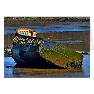 Where old boats go to retire card