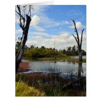 Where The Wildlife Play, Riverland, Australia, Card