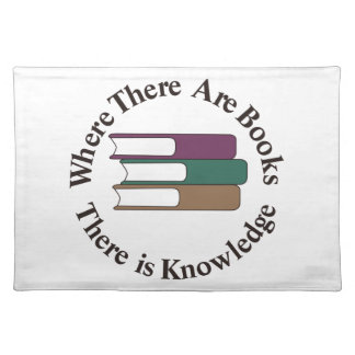 Where There are Books Placemat