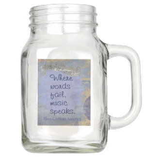 Where words fail -- Collectible Mason Jar