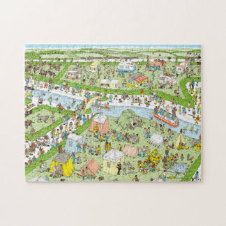 Where's Waldo Campsite Jigsaw Puzzle