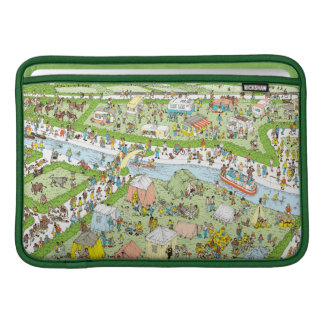 Where's Waldo Campsite MacBook Sleeve