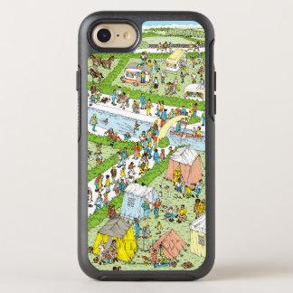 Where's Waldo Campsite OtterBox Symmetry iPhone 7 Case
