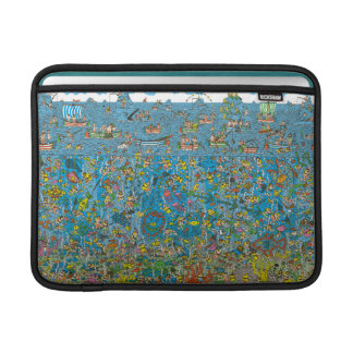 Where's Waldo Deep Sea Divers MacBook Sleeve