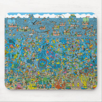 Where's Wally Mouse Pads