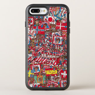 Where's Waldo Enormous Party OtterBox Symmetry iPhone 7 Plus Case