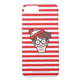 Where's Waldo Face iPhone 8/7 Case