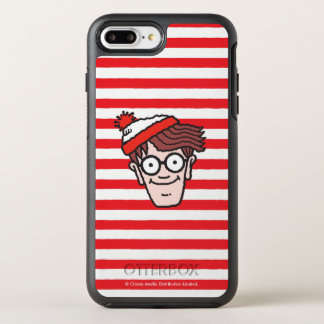 Where's Waldo Face OtterBox Symmetry iPhone 7 Plus Case