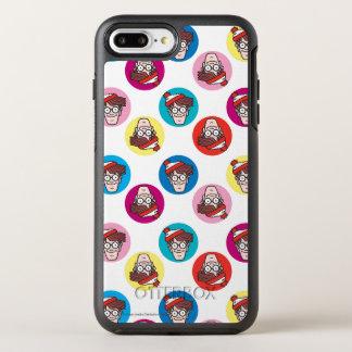 Where's Waldo Fun Circle Pattern OtterBox Symmetry iPhone 7 Plus Case