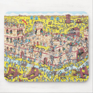 Where's Waldo | Knight Attack Mouse Pad