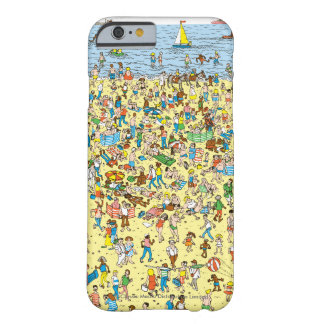 Where's Waldo on the Beach Barely There iPhone 6 Case