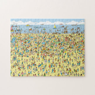 Where's Waldo on the Beach Puzzle