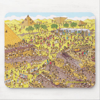 Where's Waldo | Riddle of the Pyramids Mouse Pad
