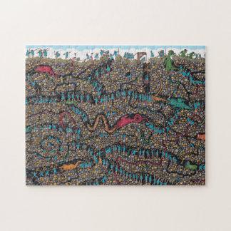 Where's Waldo | Underground Hunters Jigsaw Puzzle