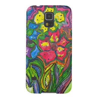 Whimsical Bouquet of Kitties Galaxy S5 Cases