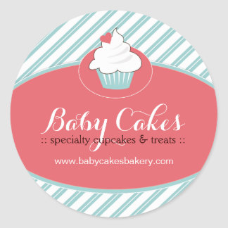 Whimsical Cupcake Sticker