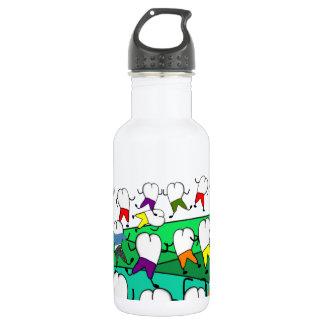 Whimsical Dental  Tooth Art 532 Ml Water Bottle