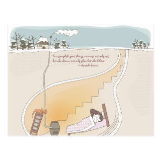Whimsical Dreamscape 10 Postcard