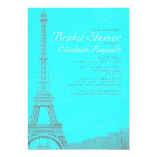 Whimsical Eiffel Tower Bridal Shower Invitations