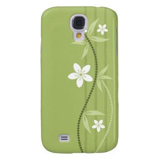 Whimsical Garden Green  Galaxy S4 Case